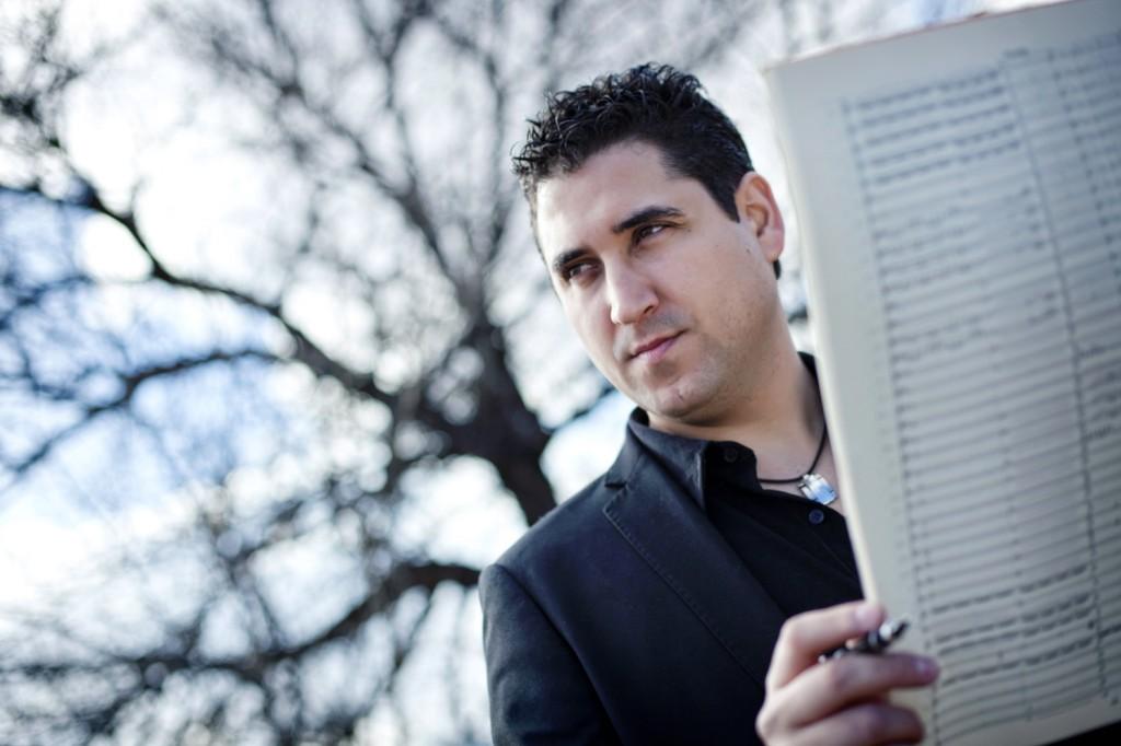 El compositor Óscar Navarro